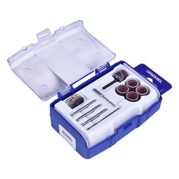 Kit para Mini Retífica com 20 Peças para Limpar e Polir Dremel