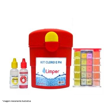 Kit Teste Análise Cloro x PH Limper Atcllor