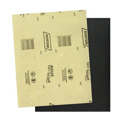 Lixa D'agua T223 Grão 1200 Kit c/ 50 Folhas Norton