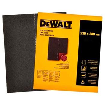 Lixa Ferro Grão 80 Kit c/ 25 Folhas DeWalt