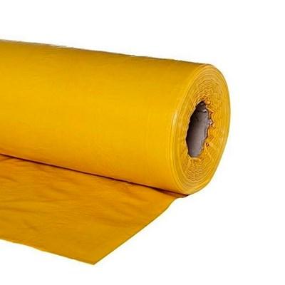Lona Plástica Amarela 4x50m 13Kg Ecocicle
