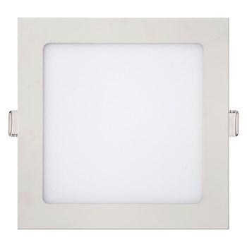 Luminária Led Embutir Quadrada Slim 18W 3000K Kian