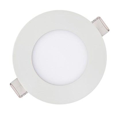 Luminária Led Embutir Redonda Slim 3W 6000K Kian