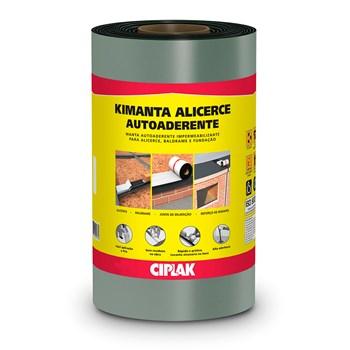 Manta Asfáltica Aluminizada Autoadesiva Kimanta Ciplak 30cm x 10m Sika