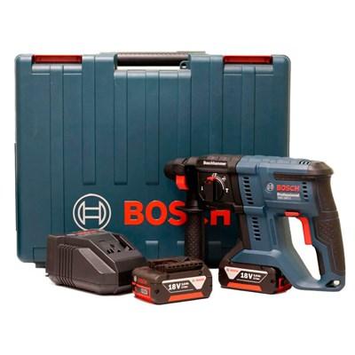 Martelete Perfurador a Bateria GBH 180-LI, 2J, 2 bat Bosch