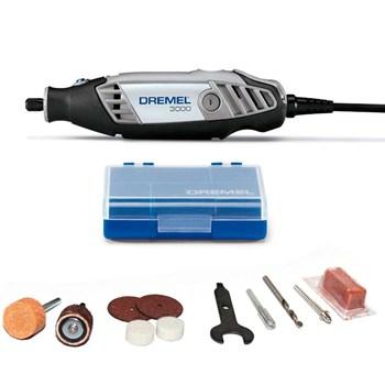 Micro Retifica Dremel 3000 120w Kit com 10 Acessórios