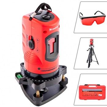 Nível à Laser autonivelante 150mm com Tripé 110 cm e Maleta MTX