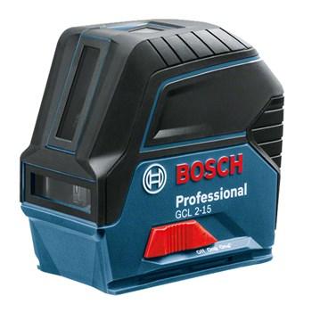 Nível a Laser de linhas 15 m com pontos Bosch GCL 2-15