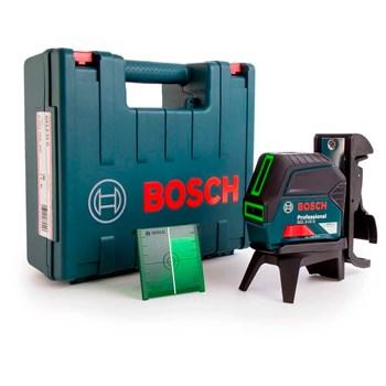 Nível A Laser De Linhas E Pontos 15m Verde Gcl 2-15 G Bosch