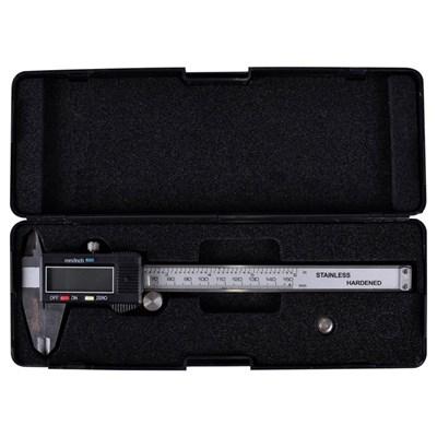 Paquímetro Universal Digital 150mm 6 polegadas em Aço Inox MTX