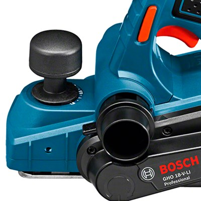 Plaina a Bateria GHO 18V-LI 18V s/ Bateria e Maleta Bosch