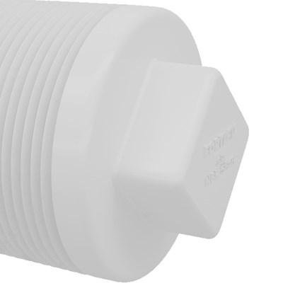 Plug Roscável 1/2 Fortlev Kit C/ 50 und
