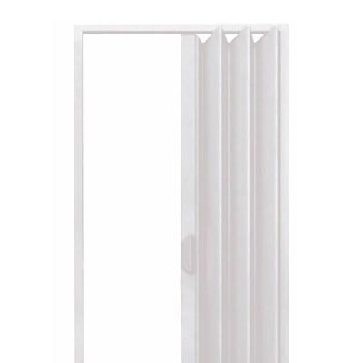 Porta Sanfonada PVC 210x60 Cinza Fortlev