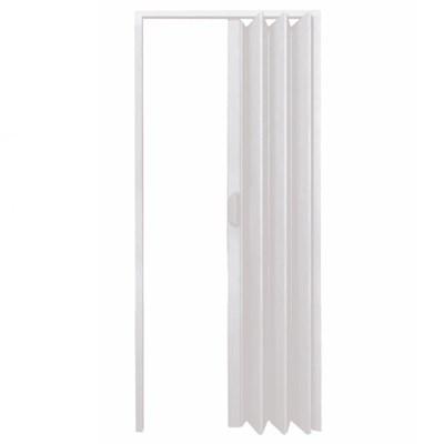 Porta Sanfonada PVC 210x80cm Cinza Fortlev