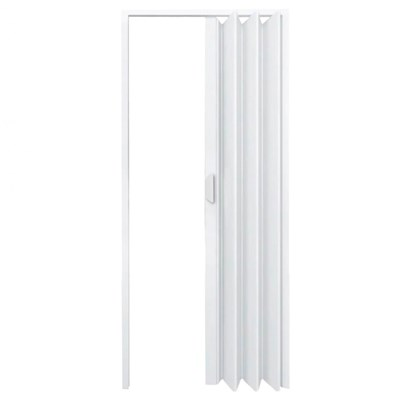 Porta Sanfonada PVC Fortlev 210x60cm Branca
