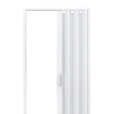 Porta Sanfonada PVC Fortlev 210x70cm Branca