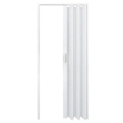 Porta Sanfonada PVC Fortlev 210x80cm Branca