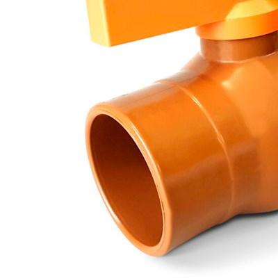 Registro Esfera Soldavel 50mm Unifortte Kit C/ 2 und