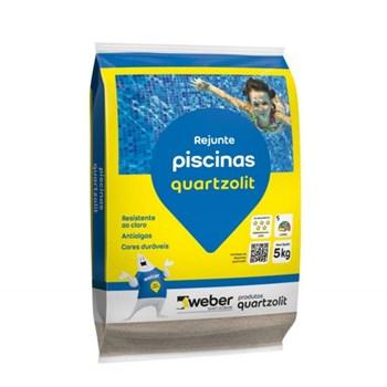 Rejuntamento Piscina Azul Branco 5Kg Quartzolit