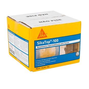 Revestimento Impermeabilizante SikaTop 100 Caixa 18kg Sika