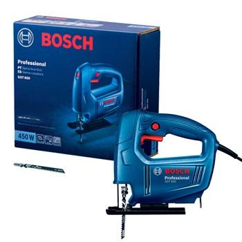 Serra Tico-Tico Bosch GST 650 450W, com 1 Lâmina