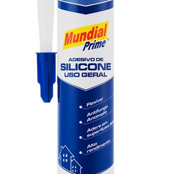 Silicone Incolor Acético 256g - 270ml Mundial Prime