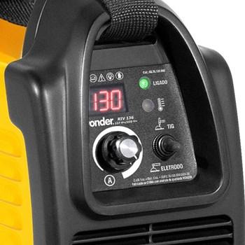 Solda Inversora Tig Eletrodo 130A RIV136 Bivolt Automático Vonder