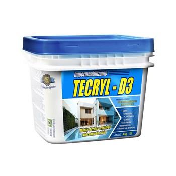 Tecryl Impermeabilizante Acrílico D3 18kg