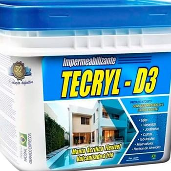 Tecryl Impermeabilizante Acrílico D3 4kg