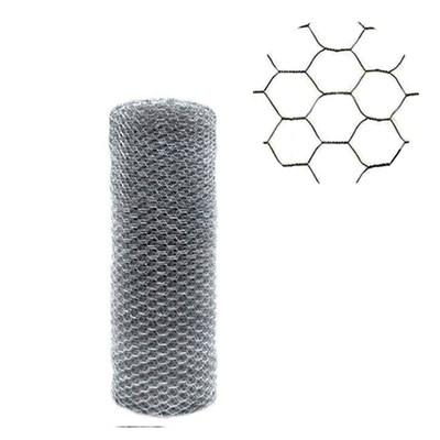 Tela Hexagonal Galinheiro 50x1,80m Fio 23 Morlan