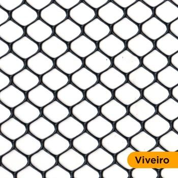 Tela Pvc Viveiro Nº5 1,50x50M Touro Roma