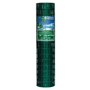 Tela Soldada Alambrado PVC 1,0m Altura x 25m Comprimento Morlan