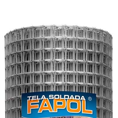 Tela Soldada Fapol 0,50m Altura x 25m Comprimento