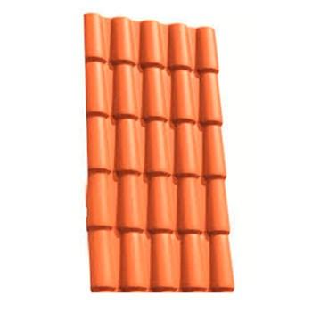 Telha PVC Colonial Cerâmica 5 Ondas 2.30 x 0,86m Fortlev