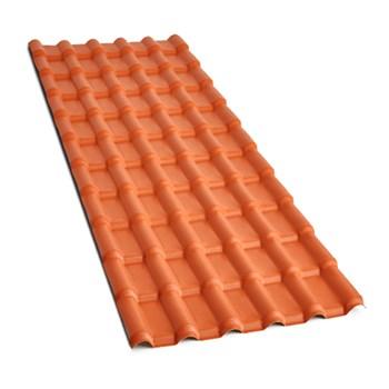 Telha PVC Plan Cerâmica 6 Ondas 2.42 x 0,86m Fortlev