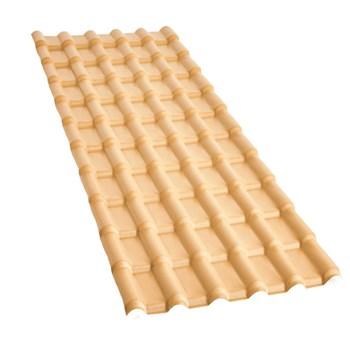 Telha PVC Plan Marfim 6 Ondas 2.42 x 0,86m Fortlev