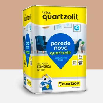 Tinta Parede Nova Fosca 18L BR Camurça Quartzolit
