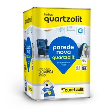 Tinta Parede Nova Fosca 18L BR Neve Quartzolit