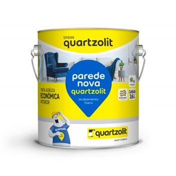 Tinta Parede Nova Fosca 3,6L BR Branco Gelo Quartzolit
