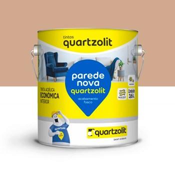Tinta Parede Nova Fosca 3,6L BR Camurça Quartzolit