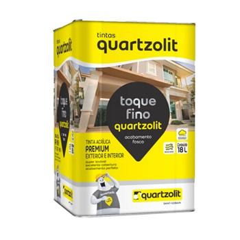 Tinta Toque Fino Fosca 18L Areia Quartzolit