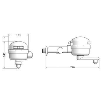 Torneira Elétrica Clean 3 Temperaturas Lorenzetti 4500w 110v