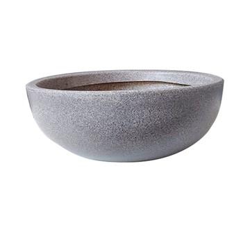 Vaso de Planta 17cm Safira PVC Pedra Afort
