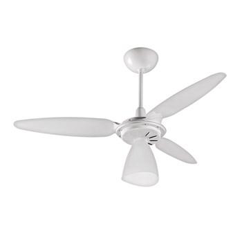 Ventilador de Teto Wind Light Branco / Mogno Laqueado Ventisol